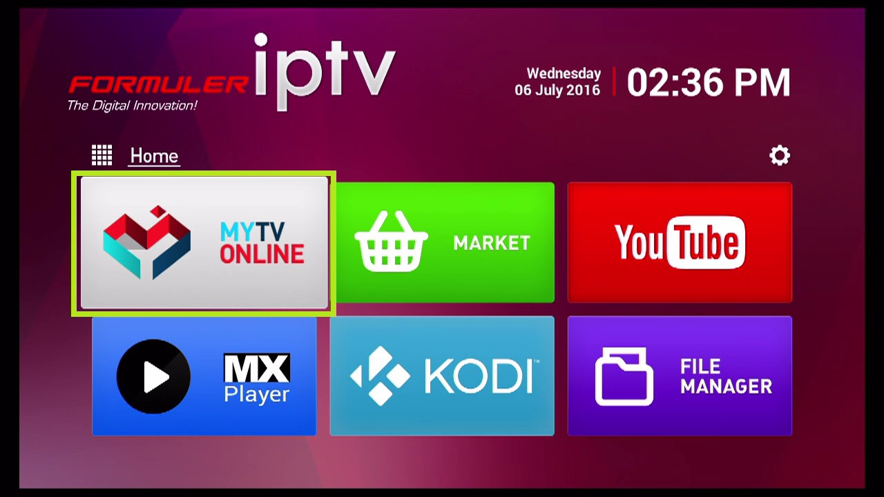 IPTV on formulerz1