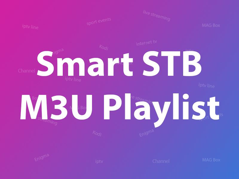 Smat STb m3u playlist