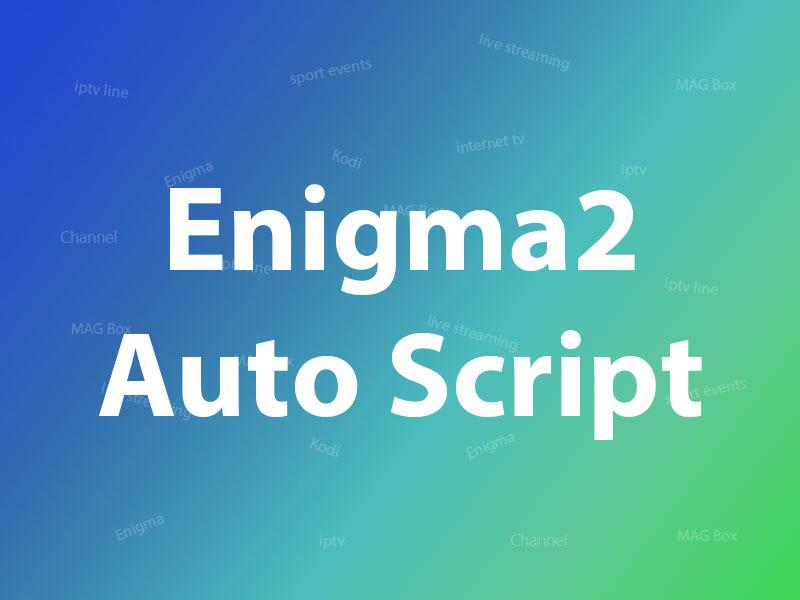 enigma2 autoscript
